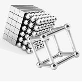 80pcs Buck Ball + 78pcs Barra magnética Cube Mezcla magnética de juguetes de neodimio N35 Imán de juguete