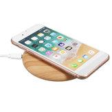 Bakeey 5W QI Muelle Inalámbrico de carga Estera de madera Cargador de carga rápida para iPhone X 8 / 8Plus Samsung S8