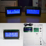 Geekcreit® Multifunctional LCD Music Spectrum Large Font DS3231 Kit de bricolage d'horloge