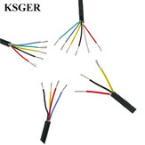 KSGER Silicone Wire Cable Tinned Copper T12 Soldering Iron Station High Temperature Soft Jacket