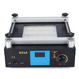 YIHUA 853A 220V高出力ESD BGAリワークステーションPCB予熱&はんだ付けIR予熱ステーション