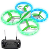 Eachine E65H Mini Altitude Hold Modo sem cabeça Rotação 360 ° LED RC Drone Quadricóptero RTF