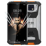 OUKITEL WP6 Global Version 6,3 tommer FHD + IP68 Vandtæt 10000mAh 48MP tredobbelt bagkamera 6 GB 128 GB Helio P70 4G Smartphone