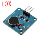 10PCS اهتزاز Motor Unit Mini Flat Vibrating تيار منتظم Motor Geekcreit for Arduino - المنتجات التي تعمل مع لوحات Arduino الرسمية