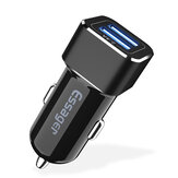 Essager 2.4A Dual USB Port Fast Charging Car Charger For iPhone X XR XS Max Xiaomi Mi8 MI9 HUAWEI P30 Mate30