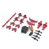 Wltoys K969 K979 K989 1/28 Full Metal Upgraded Parts Kit Red Color RC Car Vehicles Model Accessories