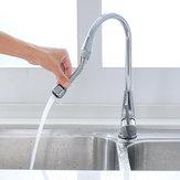 Extended Faucet Splash Water Saving Kitchen Extended Shower Spray Extender Filter