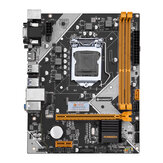 HUANANZHI B75 Desktop Motherboard M-ATX LGA1155 for Core i3 i5 i7 CPU Support 2 * 8G DDR3 Memory Black