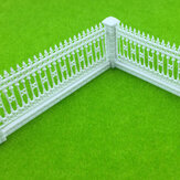 1:87 HO Scale Detechable Fences For Sand Table Model Building Train Railway