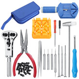 34pcs Watch Repair Tool Kit Clock Band Strap Cover Remover Opener Screwdriver
