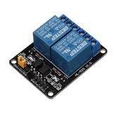 3本のBESTEP 2チャンネル3Vリレーモジュール低レベルトリガーフォトカプラ絶縁用Auduino