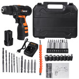16.8V Electric Drill 2 Speed Electric Cordless Drill Electric Screwdriver Driver with Bits Set and Batteries