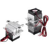 Apparecchiature di raffreddamento radiatore a semiconduttore assemblate con sistema di raffreddamento ad acqua Peltier
