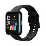 orologio realme Touch screen da 1,4 pollici IP68 Cinturino impermeabile in tempo reale Cuore Monitoraggio dell'ossigeno nel sangue 14 modalità sportive Controllo della musica Smart Watch
