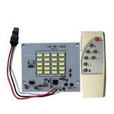 DC3.7V 10 W LED Controle Remoto DIY Chip de Fonte de Luz Branca para Luz Solar Controlada por Luz
