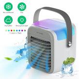 BlitzWolf®BW-FUN10 Przenośny wielofunkcyjny wentylator 4 w 1 Klimatyzator Chłodnica 300 ml Zbiornik wody 3 Prędkość wiatru 2600 mAh Wbudowana bateria