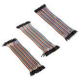 120pcs 20cm Male To Female Female To Female Male To Male Color Breadboard Jumper Cable Dupont Wire Combination For Arduino