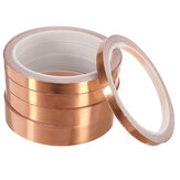 10M Adhesive Conductive Copper Foil Tape Single-sided Copper Slug Roll Tape Width 6/10/12/15/20mm