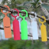 Etiquetas a prueba de agua de flores de jardín herramientas de etiquetas plantones de hortalizas y plantas colgantes 50pcs