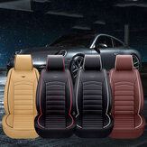 Luxury PU Leather Full Surround Car Seat Cover Cushion Pet Pad Mat Protector SUV