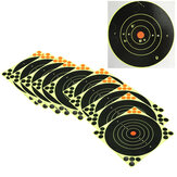 10Pcs 8inch 20cm Archery Target Self Adhesive Shooting Target for Hunting Sport Training