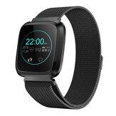 Bakeey L18 Milanese 24-часовой Сердце Оценить IP68 Регулировка яркости Спортивный режим Многоязычный Smart Watch