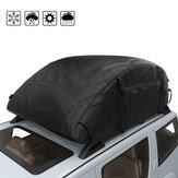 420D Oxford Tissu Cargo Carrier Bag Car Van Top Box Sac De Rangement Sac De Bagages De Toit Résistant À L'eau