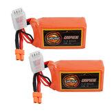 2 unidades URUAV GRAPHENE 3S 11,1V 850mAh 110C Lipo Bateria XT30 Plug para FPV RC Racing Drone