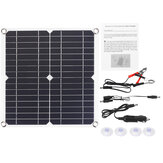 20W 5V Monocrystalline Solar Panel Mono Solar Powered Panel Waterproof Fast Charging Charger Board With Accessories