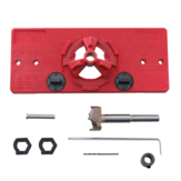 35mm Cup Style Hingle Jig ABS Hinge Hole Opener Jig Drill Guide Cabinet Door Installation Hole Locator