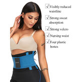 ZANZEA Unisex Double Fixed Waist Trainer Patchwork Hourglass Body Shapewear