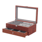 Watch Glasses Display Case Grids Storage Box Jewelry Collection Case Organizer