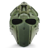 Multifunctional Motorcycle Motocross Anti-shock Tactical Military Adjustable Helmet+Fan+Mask+Goggles
