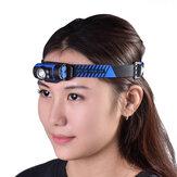 WUBEN H3 Headlight 7-Modes 140LM Rotatable LED Headlamp for Kid Women Men Hat Cap Clip On Light Cycling Fishing Head Lamp