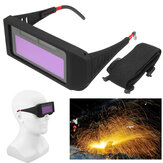 Anti-Glare UV-Proof Solar Auto Darkening Welding Mask Helmet Eyes Goggle Eyes Shield Glasses For Welder