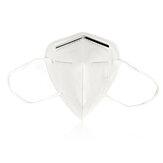 LEIHUO 5Pcs KN95 Face Máscara Proteção anti-espuma à prova de respingos PM2.5 Equipamento de proteção individual descartável Máscara