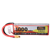 ZOP Power 7.4V 4000mAh 100C 2S Lipo Batterie XT60 Stecker für RC Racing Drone