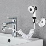 Умывальник для умывальника для ванной комнаты Внешний кран для душа Гибкий Волосы Набор для мытья домашних животных для мытья посуды Набо