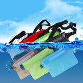 Bakeey العالمي كبير كبير سعة سباحة الغوص PVC شفافة موبايل هاتف ساعات تخزين الخصر الحقيبة ضد للماء حقيبة