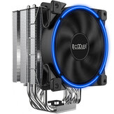PCCOOLER GI-R66U CPU Air Cooler 120mm PWM AIO 300W Slient Radiator Computer PC Gaming Case Cooling Fan for Intel AMD