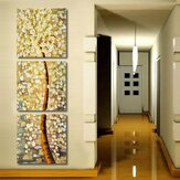 3Pcs Modern Art Life Tree Oil Print Wall Paintings Picture Unframed Paintings Home Decor
