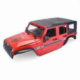RC Car Crawler ABS Body Shell Cover For 1/10 Axial Scx10 Scx10-ll 90046 90047 Vehicle Parts