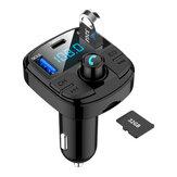 BT29 Авто MP3-плеер Bluetooth QC 3.0 Зарядное устройство FM Type-C Поддержка 32GB USB TF Автоd