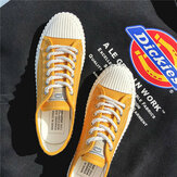 Canvas Shoes Men's New Personality Trend Low To Help Casual Shoes Students Season Cloth Shoes Pull Back Canvas Shoes