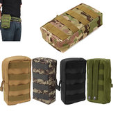 Outdoor Tactical Portable Large Capacity Storage Bolsa Bolsa de telefone para Xiaomi iPhone Samsung
