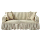 1/2/3/4 Seaters Spandex Elastic Stretch Sofa Armchair Cover Living Room Couch With Skirt
