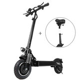 Lutedrive L10 2000W Dual Motor 23.4Ah 10 Inches Folding Electric Scooter with Seat 70km/h Top Speed 80km Mileage Range Max Load 120kg