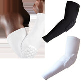 KALOAD Nylon Breathable Elbow Sleeve Guards Anti Collision Elbow Support Fitness Exercise Protectors