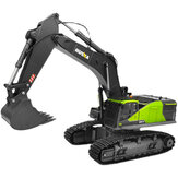 HuiNa 593 RTR 1/14 22CH RC Excavator Alloy Bucket Vehicles Models