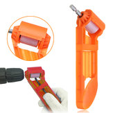 Portable Drill Bit Sharpener 5/64 to 1/2 Inch Bits Corundum Grinding Wheel Drill Powered Tool